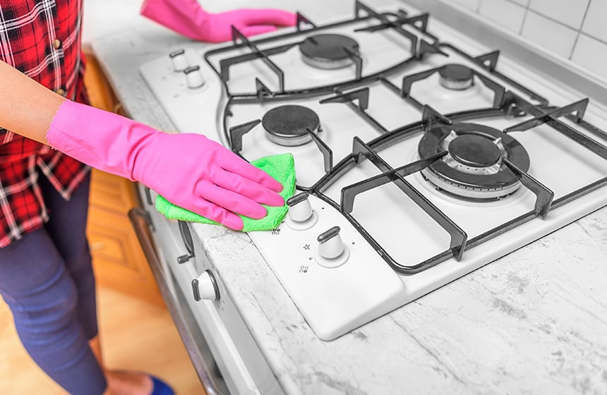 How To Get Cooked On Grease Off The Stove Top 7 Effective Tips