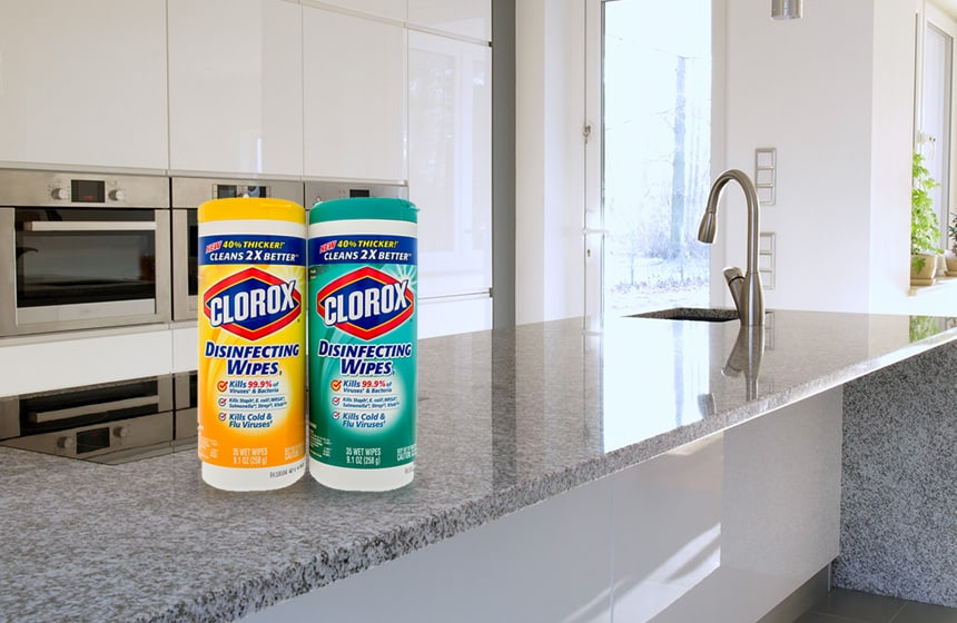 Can You Use Clorox Wipes On Granite No And Read Why